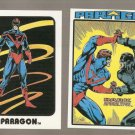 Lot of 2 AC Comics Paragon Cards Femforce II