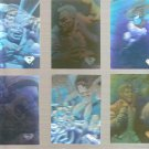 Lot of 6 Superman Holo Series Cards 1996 Skybox DC