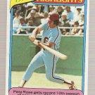 1980 Topps #4 Pete Rose Highlights Baseball Card EX