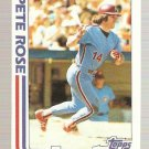 1982 Topps #781 Pete Rose In Action Baseball Card EX-MT