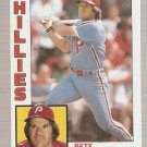 1984 Topps #300 Pete Rose Baseball Card NM