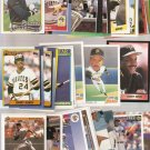Lot of 30 Barry Bonds Baseball Cards Pirates Giants Topps