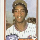 1981 Topps Traded Baseball Card #742  Hubie Brooks EX