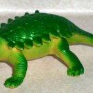 """Ankylosaurus 4"""" Plastic Toy Dinosaur Loose Used"""