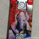 Mcdonald's 2010 Star Wars Clone Wars General Grievous Mini Skateboard  Happy Meal Toy Loose Used