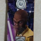 Mcdonald's 2010 Star Wars Clone Wars Mace Windu Mini Skateboard  Happy Meal Toy Loose Used