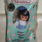 McDonald's 2007 Madame Alexander Wizard of Oz Dorothy Doll Happy Meal Toy In Package