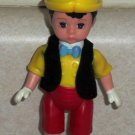 McDonald's 2004 Madame Alexander Pinocchio Boy Doll Happy Meal Toy Loose Used