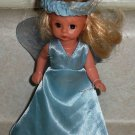 McDonald's 2004 Madame Alexander Blue Fairy Doll Happy Meal Toy Loose Used