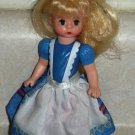 McDonald's 2010 Madame Alexander Alice in Wonderland Doll Happy Meal Toy Loose Used