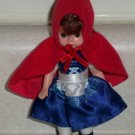 McDonald's 2010 Madame Alexander Little Red Riding Hood Doll Happy Meal Toy Loose Used