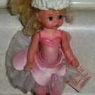 McDonald's 2003 Madame Alexander Pink Fairy Doll with Tag Happy Meal Toy Loose Used