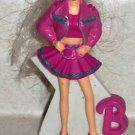 McDonald's 1993 Paint and Dazzle Barbie Doll Happy Meal Toy Loose Used