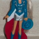 McDonald's 1993 Western Stampin' Barbie Doll Happy Meal Toy Loose Used