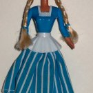 McDonald's 1996 Dutch Barbie Doll Happy Meal Toy Loose Used