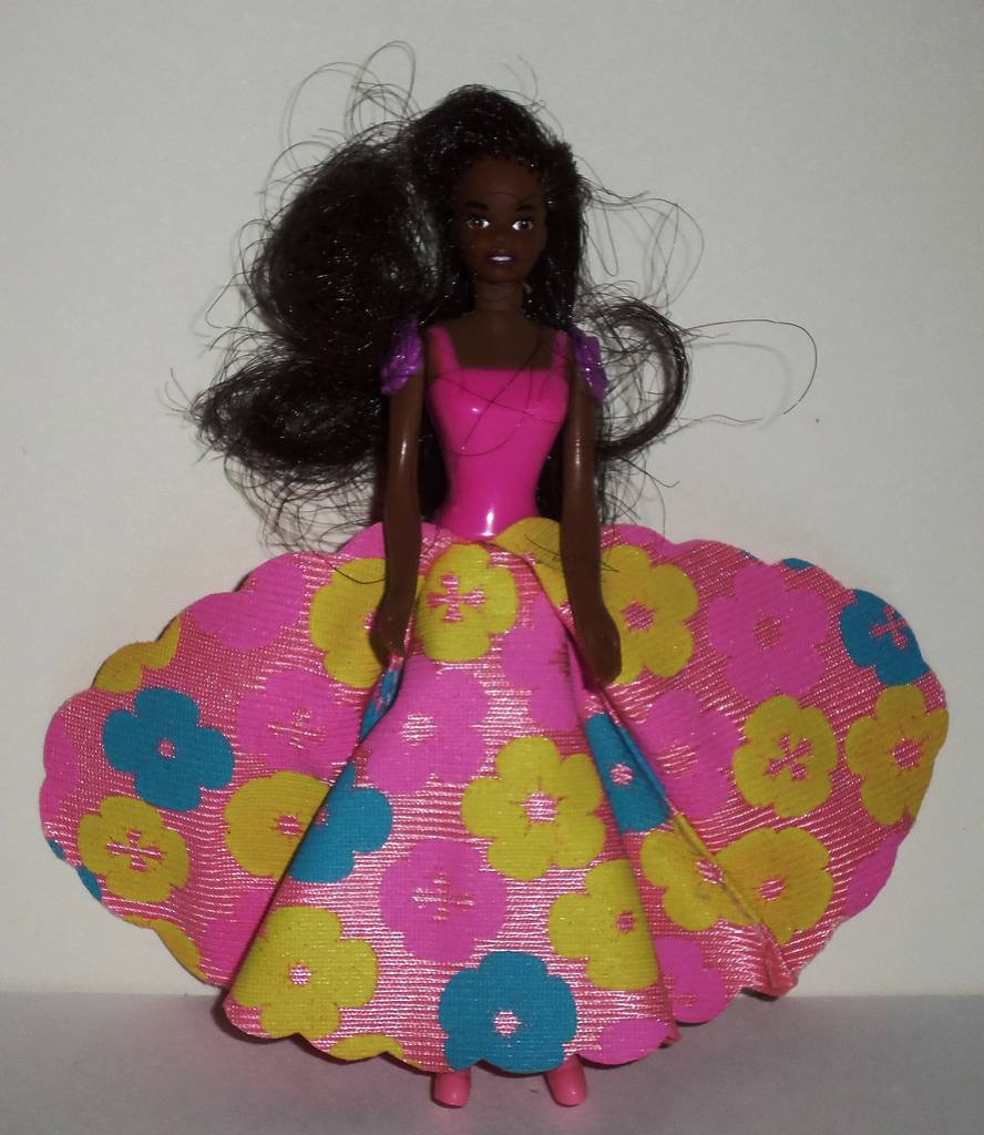 Mcdonald S 1997 Blossom Beauty Barbie Doll Happy Meal Toy