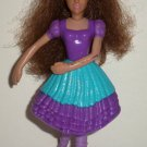McDonald's 2006 Barbie Dancing Princesses Princess Isla Doll Happy Meal Toy Loose Used