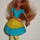 McDonald's 2006 Barbie Dancing Princesses Princess Hadley Doll Happy Meal Toy Loose Used