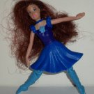 McDonald's 2006 Barbie Dancing Princesses Princess Courtney Doll Happy Meal Toy Loose Used