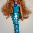 McDonald's 2010 Barbie in a Mermaid Tale Xylie the Mermaid Doll Happy Meal Toy Loose Used