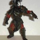 """Lord of the Rings Uruk Hai Captain 3"""" Action Figure Loose Used"""