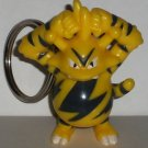 Burger King Pokemon 1999 Electabuzz Keychain Kids Meal Toy Nintendo Loose Used