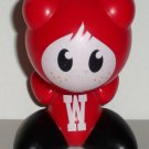 Wendy's 2009 Funkeys Red Bobble Head Kids' Meal Toy Loose Used