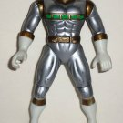 Power Rangers in Space Silver Mega Launching Power Ranger Action Figure Bandai 1998 Loose Used