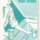 Freezing Combination Main Dishes Home & Garden Bulletin #40 Recipe Booklet 1959