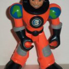 Fisher-Price #L1994 Planet Heroes Earth Ace with Orange Suit Figure Only Loose Used