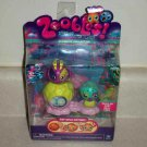 Zoobles Two-Pack Delilah #57 and Neil #058 Happitat Toy New in Package
