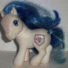 My Little Pony Sparkle Denim Blue G3 Hasbro 2004 Loose Used