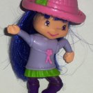 McDonald's 2007 Strawberry Shortcake Tea Blossom Doll Happy Meal Toy Loose Used