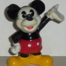 Disney Mickey Mouse Classic White Face Damaged PVC Figure Loose Used