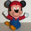 Disney Baby Mickey Mouse Plastic Figure Loose Used