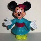 McDonalds Mickey & Friends Epcot Center Adventure Minnie in Japan Happy Meal Toy Disney World Loose
