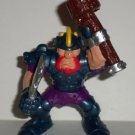Fisher-Price Great Adventures Magic Castle Bad Knight  w/ Sword and Club Figure 1999 Loose Used