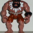 Fisher-Price Imaginext Dinosaurs Caveman Figure Brown Shorts White Necklace Mattel Loose Used