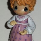 Precious Moments Jeanie Tea Shop PVC Figure Loose Used