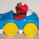 Sesame Street Elmo in Blue Car Cake Topper Bakery Crafts 2010 Loose Used