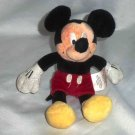 Mickey Mouse 9 inch Plush Stuffed Toy Disney Store Hoop Retail Stores Loose Used