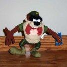 Warner Brothers Looney Tunes Tasmanian Devil in Marine Uniform Nanco Taz Plush Toy Loose Used
