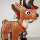 Stuffins Rudolph the Red-Nosed Reindeer and the Island of Misfit Toys Coach Comet Plush Loose Used