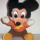 Mickey Mouse Mickey's Christmas Carol Plush Toy Walt Disney Loose Used