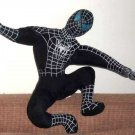 Spider-Man in Black Costume 12 Inch Stuffed Doll Loose Used