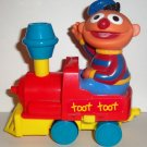 Tyco Sesame Street Wind Up Train Engine Ernie Loose Used