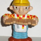 Hasbro 2000 Bob The Builder with Board Plastic Figure Loose Used