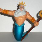 Disney's Little Mermaid King Triton PVC Figure 1997 Loose Used