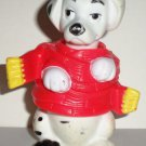 McDonald's 1996 Disney's 101 Dalmatians Dog Standing Red and Yellow Scarf Happy Meal Toy Loose