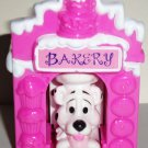 McDonald's 2000 Disney's 102 Dalmatians Dog in Pink Bakery Happy Meal Toy Loose